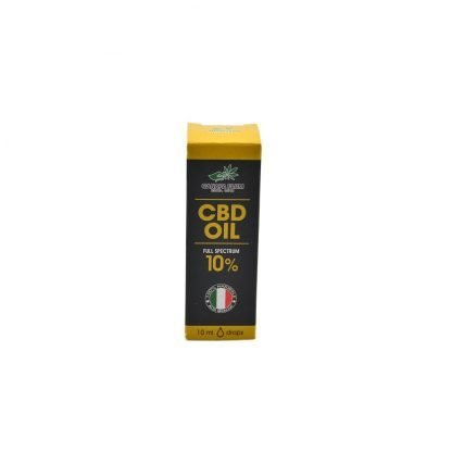 olio cbd 10 gocce scatola