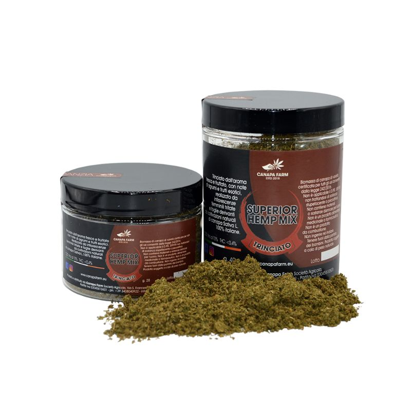 Trinciato superiore canapa hemp mix
