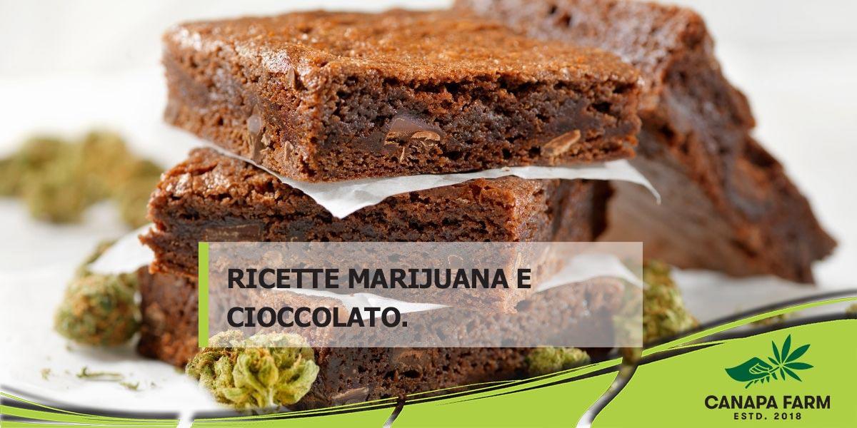ricette marijuana e cioccolato brownies