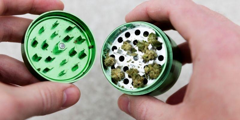 grinder per infiorescenze cannabis