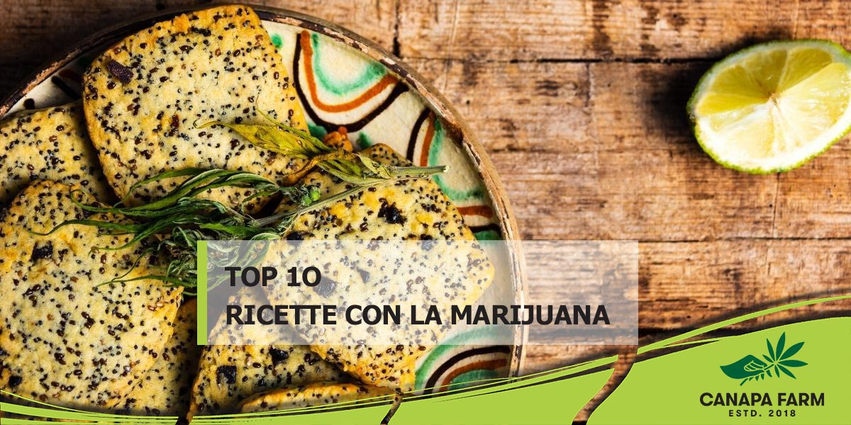 10 ricette con la marijuana