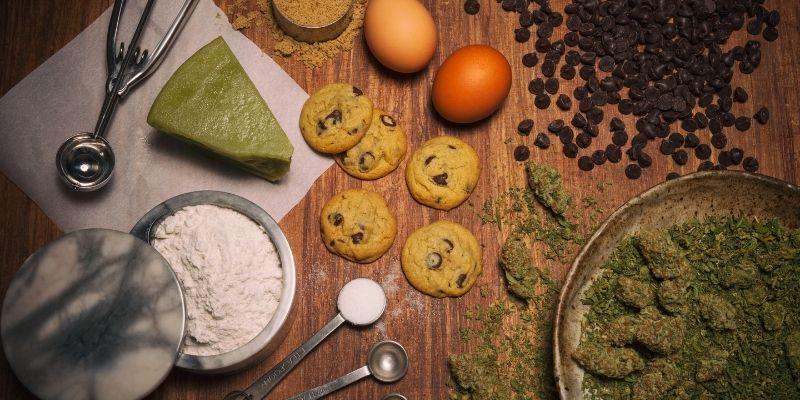 ingredienti biscotti alla marijuana