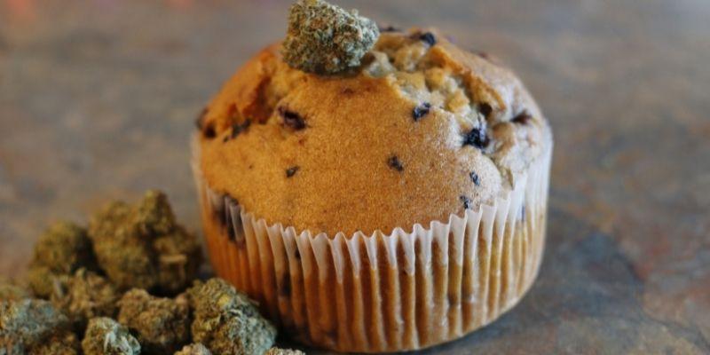 muffin alla cannabis