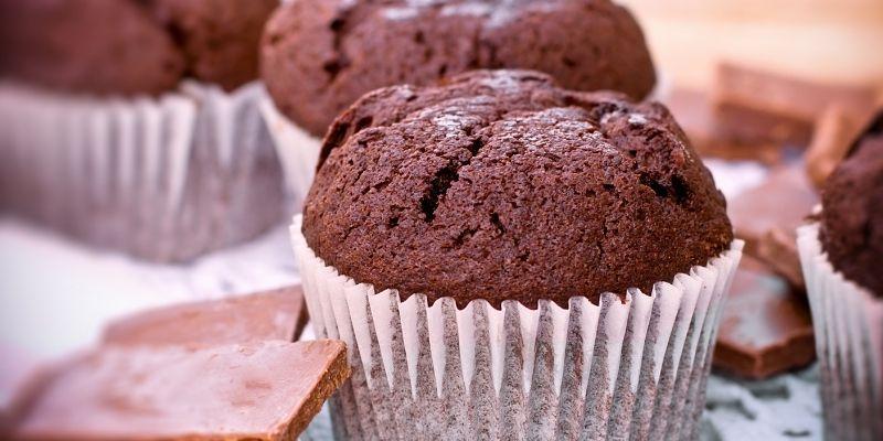 muffin marijuana e cioccolato