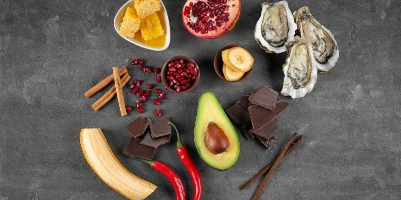 alimenti afrodisiaci ostriche e peperoncino