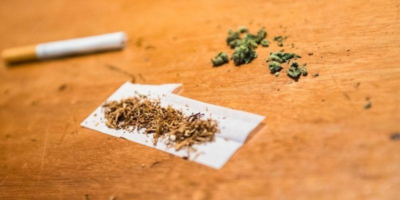 fumare una canna